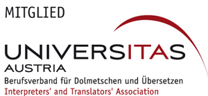 Universitas Dolmetscher Logo